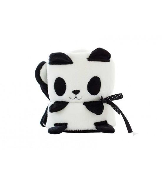 Eazy Kids Plush Blanket Panda