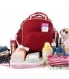 Sunveno Signature Maternity Diaper Bag - Red