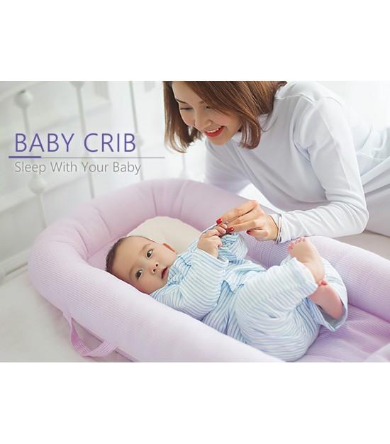 Sunveno - Baby Co-Sleeping Bed - Organic Pink