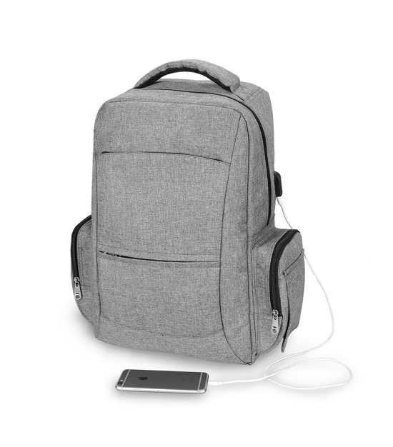 Alameda Unix Diaper Bag with USB charging cable