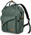 Alameda Diaper Backpack - Large - Olive Green