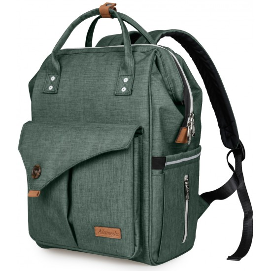 Alameda Diaper Backpack - Large - Olive Green