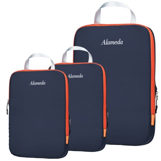 Alameda Packing Cubes - Set of 3 - Dark Grey