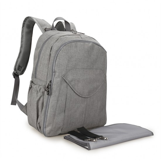 Alameda - Primo Mother's Bag - XL - Grey