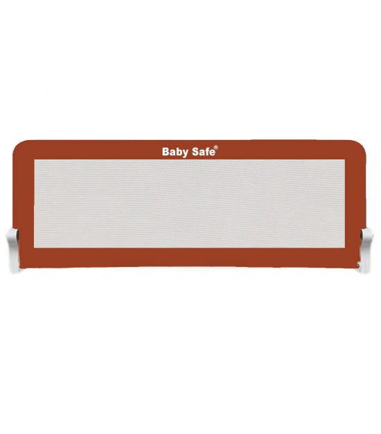 Baby Safe Safety Bed Rail XL-(150X42cm) BROWN