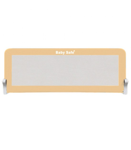 Baby Safe Safety Bed Rail -(120X42cm) Khaki