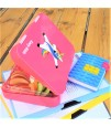 Nohoo Unicorn 3D  Bag + Bento Lunch Box-Pink