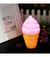 Eazy Kids - Ice Cream Lamp Light - Pink