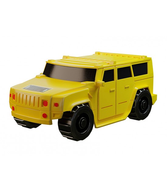 Eazy Kids - Inductive Toy Hummer Car -Draw and Play