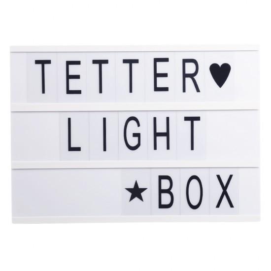 Letter Light Box - A3
