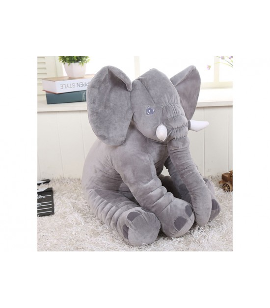 Eazy kids - plush pillow - Medium - Grey