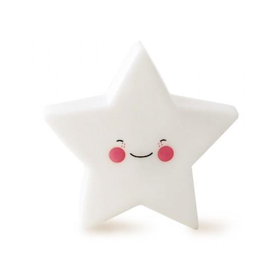 Eazy Kids - Star Lamp Light - White