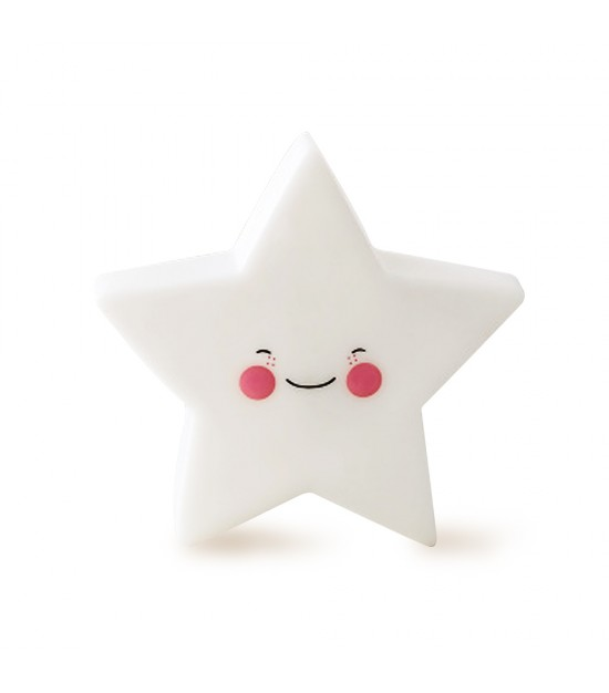 Eazy Kids - Star Lamp Light - White