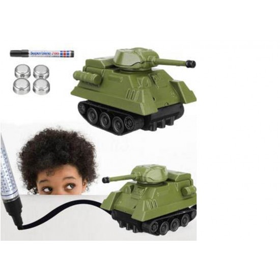 Eazy Kids - Inductive Toy Tank-Draw and Play