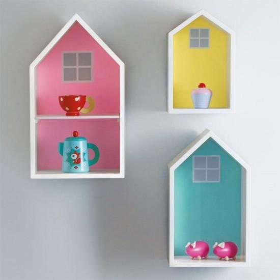 Eazy Kids - Wall Decor Shelves - Set of 3 Hut