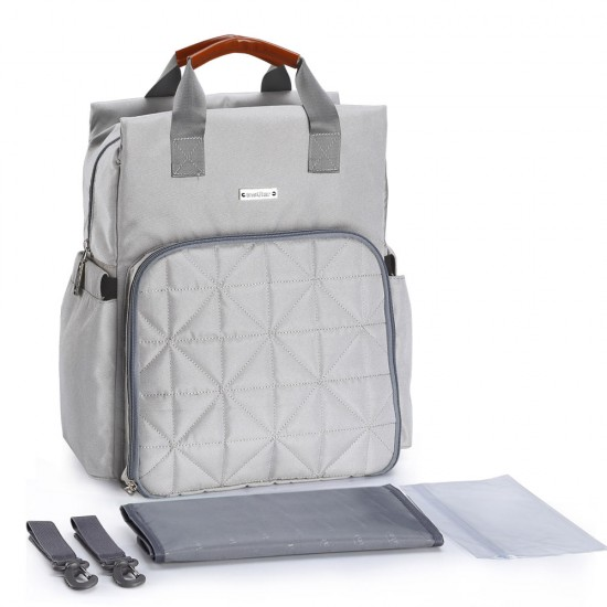 Insular - Nova Diaper Backpack - Grey