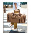 SB-Extendable Duffle Travel Bag - Khakhi Brown