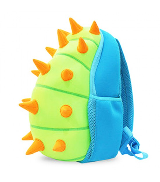 Nohoo Jungle Backpack-Spiky Dinosaur Green