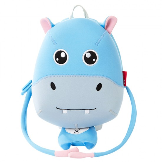 Nohoo Jungle Backpack Anti-Lost-Hippo
