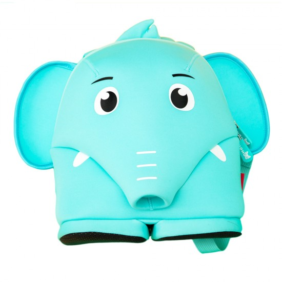 Nohoo Jungle Backpack Anti-Lost-Elephant Blue