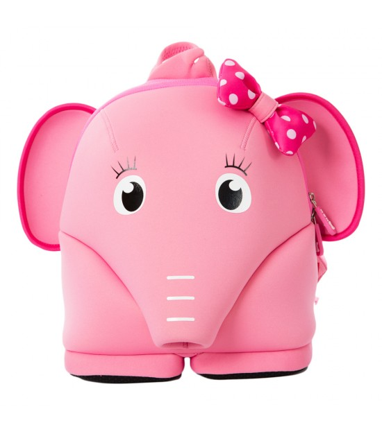 Nohoo Jungle Backpack Anti-Lost-Elephant Pink