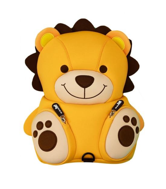 Nohoo Jungle Kindergarden Bag-Lion