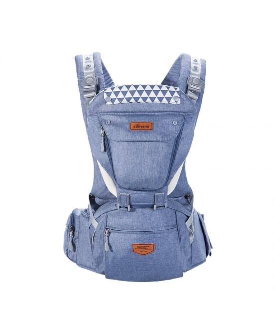 Sunveno Kangaroo Style Ergonomic Baby Carrier - Blue