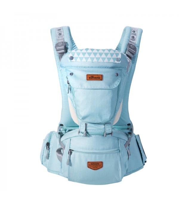 15f3b1b86b SUNVENO Kangaroo Style Ergonomic Baby Carrier - Green