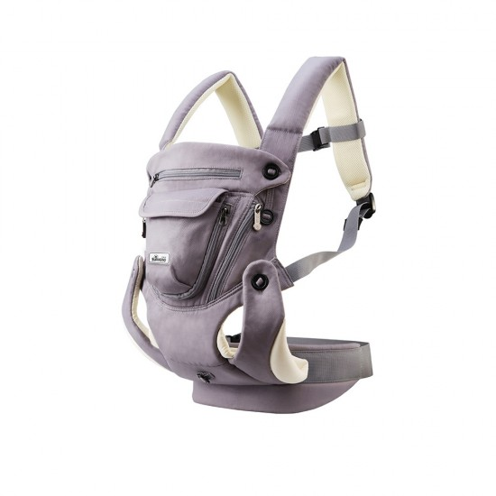 Sunveno - Ergonomic Baby Carrier Sling - Grey