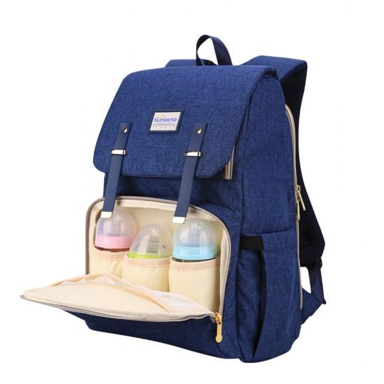 Sunveno Travel Diaper Bag XL- Blue