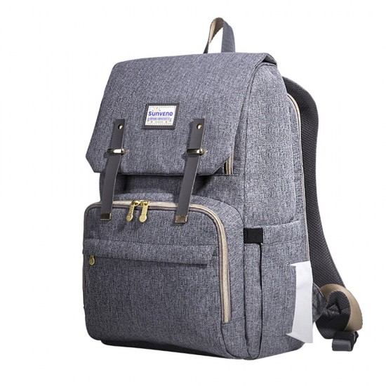 Sunveno Travel Diaper Bag XL - Grey