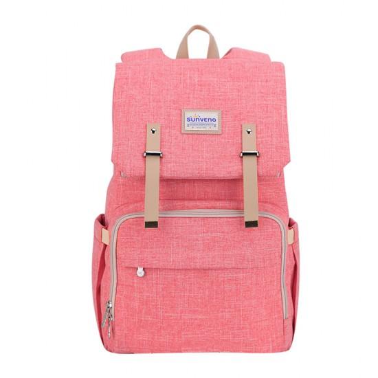 Sunveno Travel Diaper Bag XL - Orange