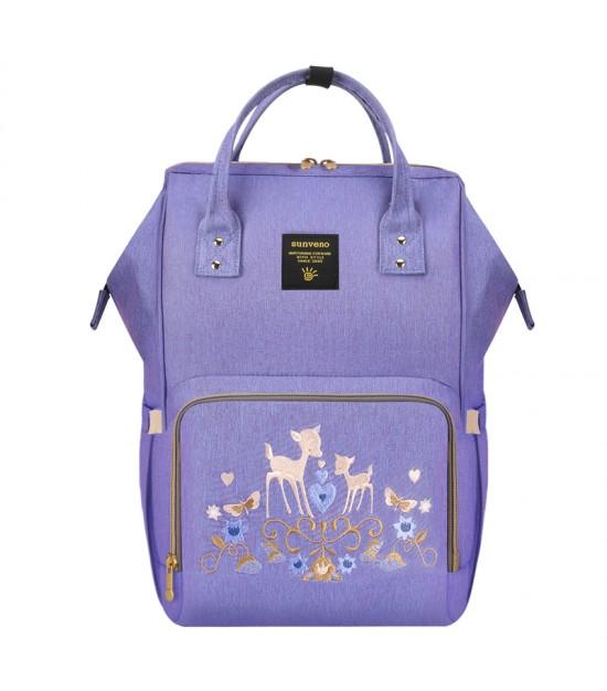 Sunveno Diaper Bag - Purple Deer