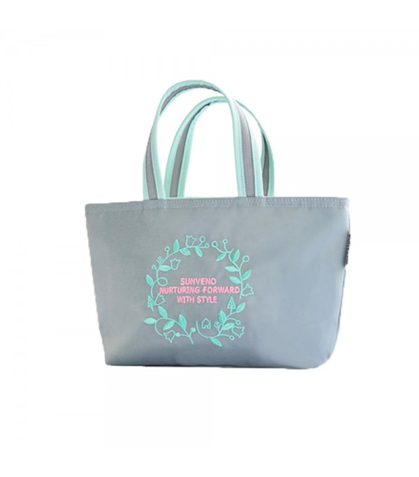 0911c15feed8 Sunveno - Insulated Lunch Bag - Embroidery Grey