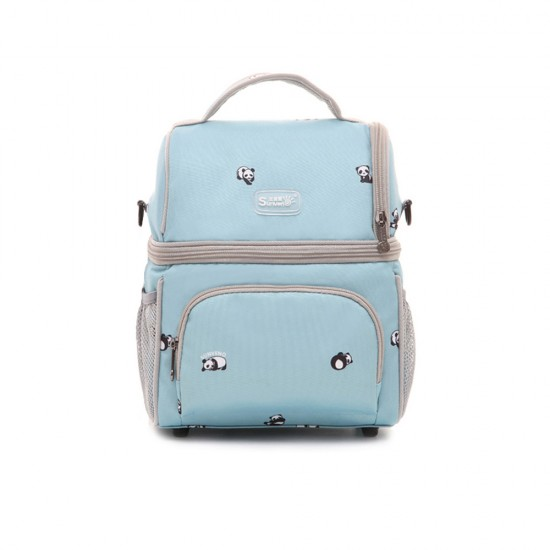 Sunveno - Insulated Multipurpose Bag - Panda Blue