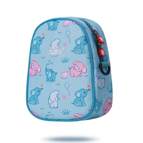 Sunveno Double Bottle/Lunch Bag – Blue