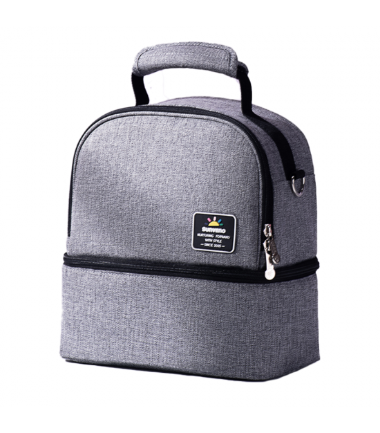 Sunveno Insulated Office Lunch Bag - Space Grey