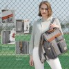 Sunveno Stella Fashion Diaper Bag - Grey