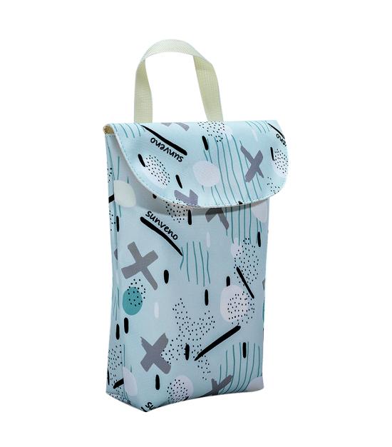 Sunveno Diaper Organizer Wet/Dry Bag - Blue