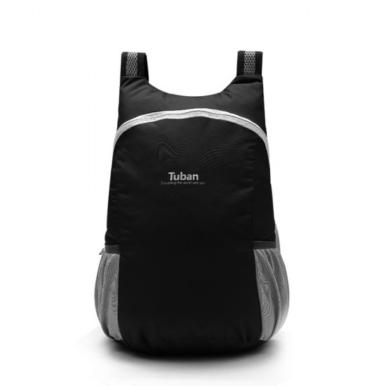 Tuban Waterproof Folding Backpack - Black