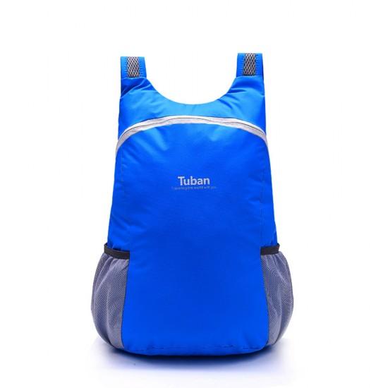 Tuban Waterproof Folding Backpack - Blue