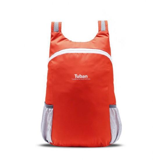 Tuban Waterproof Folding Backpack - Orange