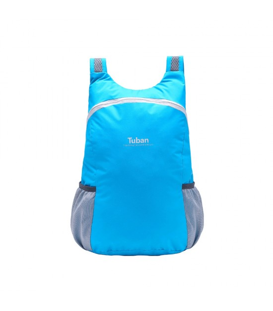 Tuban Waterproof Folding Backpack - Sky Blue