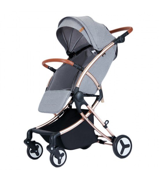 Teknum Feather Lite Traveller Stroller by Aimile - A1 - Grey
