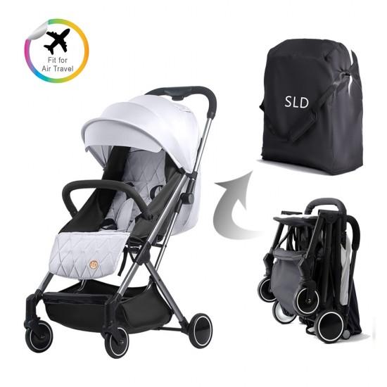 Travel Lite Stroller - SLD by Teknum - Silver