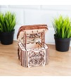 Wooden City - 3D Wooden Mystery Box - Brown