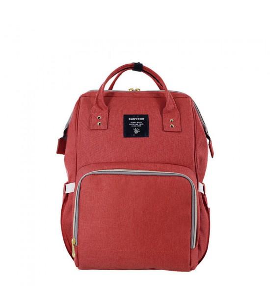 Sunveno - Diaper Bag - Brick Red
