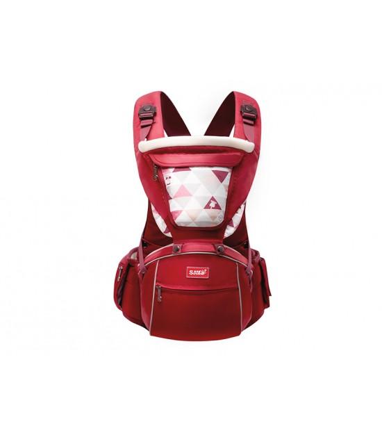Sunveno Baby Carrier - Dark Red