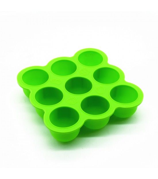 Eazy Kids Plate - Baby Food Freezer Tray - Green